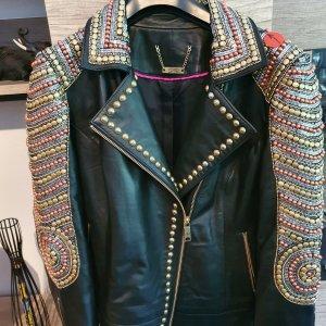 Brian Rennie Leather Jacket black leather