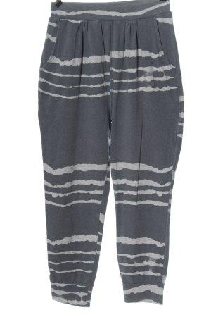 Braintree Luźne spodnie jasnoszary Abstrakcyjny wzór W stylu casual