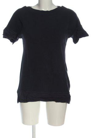 Braintree Sweter z krótkim rękawem czarny Na całej powierzchni W stylu casual