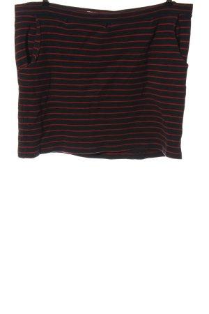 Braintree Spódnica mini czarny-czerwony Na całej powierzchni W stylu casual