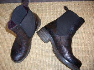 Brako Stiefeletten, Chelsea Boots Damen, Gr. 40, braun