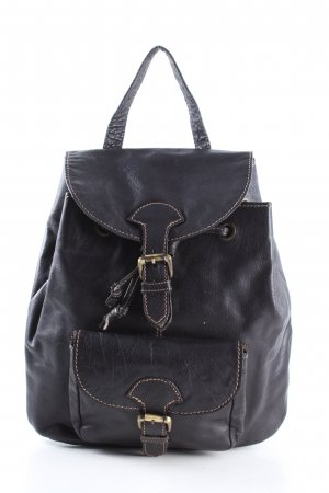 Brampton London Kindergarden Backpack black casual look