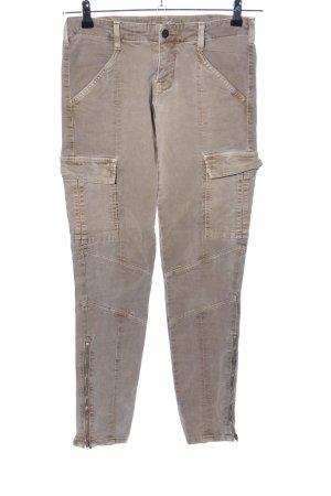 Brand Lage taille broek bruin casual uitstraling