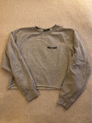 Brandy & Melville Suéter gris claro