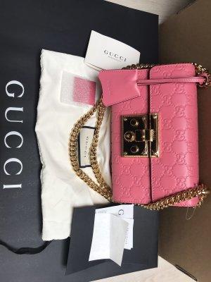 Gucci Clutch roze-stoffig roze