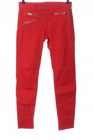 Brand Tube jeans rood casual uitstraling