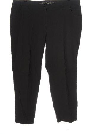 Brand Pantalone jersey nero stile casual