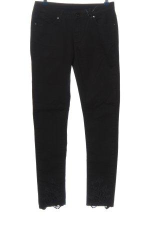 Brandalism Pantalone a vita bassa nero stile casual