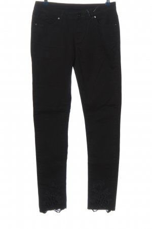 Brandalism Low-Rise Trousers black casual look