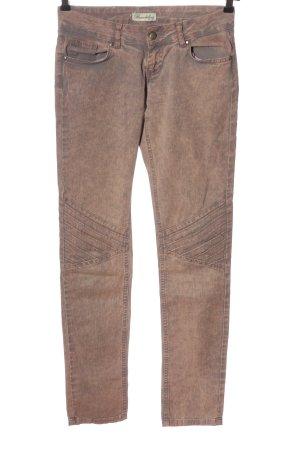 Brandalism Jeans taille basse brun style décontracté