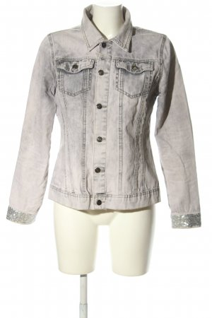 Brandalism Denim Jacket light grey casual look