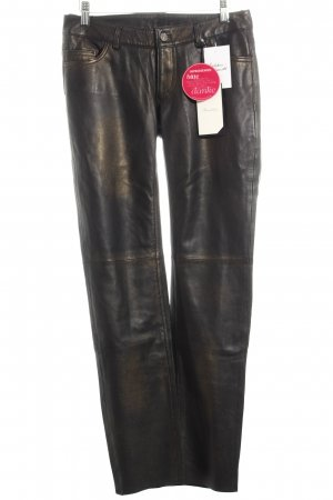 Brandalism Leather Trousers black biker look leather