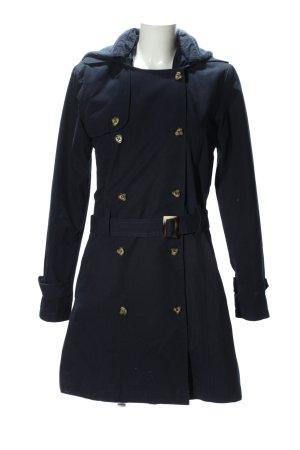 Brandalism Manteau d'hiver bleu style décontracté