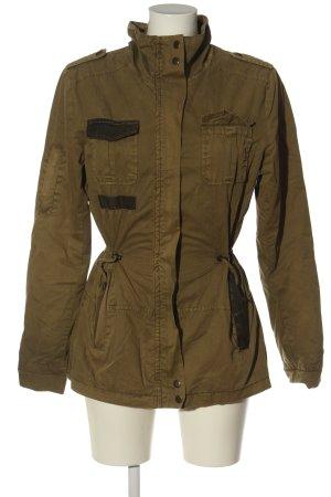 Brandit Between-Seasons Jacket brown casual look