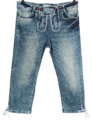 Brandl Tracht Low Rise Jeans blue casual look