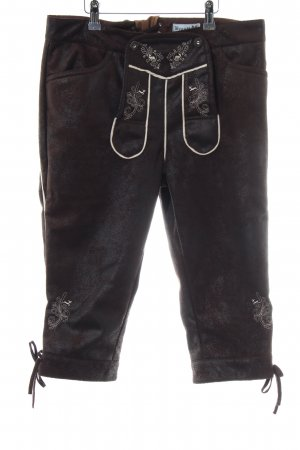 Brandl Tracht Traditional Trousers brown classic style