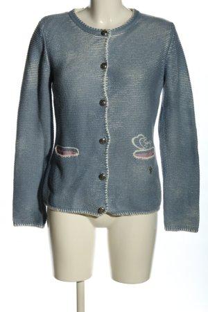 Brandl Tracht Tradycyjna kurtka niebieski-biały Styl klasyczny