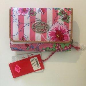 Oilily Cartera rosa tejido mezclado