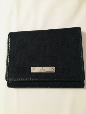 Gucci Portemonnee zwart-zilver
