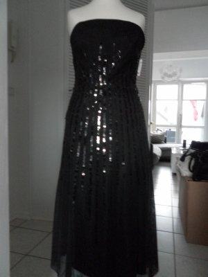 ***Brandneues Kleid von Mariposa - schwarz mit Pailletten ** Größe 32***