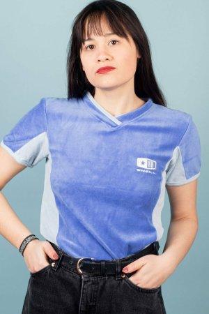 ONEILL T-shirt bleu coton