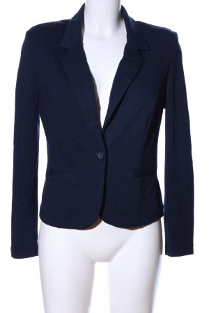 brandtex Kurz-Blazer blau Business-Look