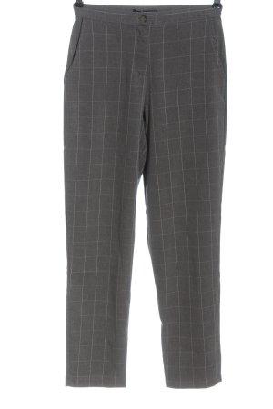 Brandy & Melville Pantalone da abito grigio chiaro-bianco stampa integrale