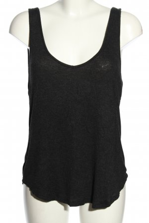 Brandy & Melville Basic topje zwart gestippeld casual uitstraling