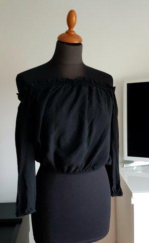 Brandy & Melville Blusa nero Cotone