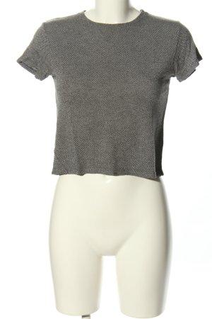 Brandy & Melville Cropped Shirt hellgrau Webmuster Casual-Look