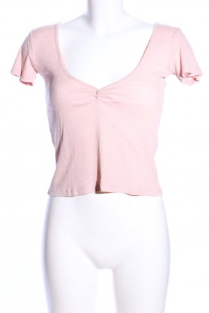Brandy & Melville Cropped Shirt pink Casual-Look