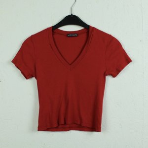 Brandy & Melville Cropped Shirt red