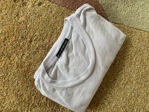 Brandy & Melville Cropped Shirt mauve cotton