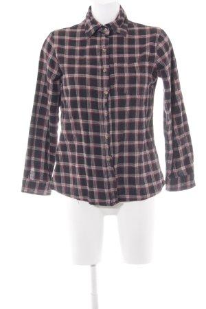 Brandy & Melville Camisa de franela estampado a cuadros look casual