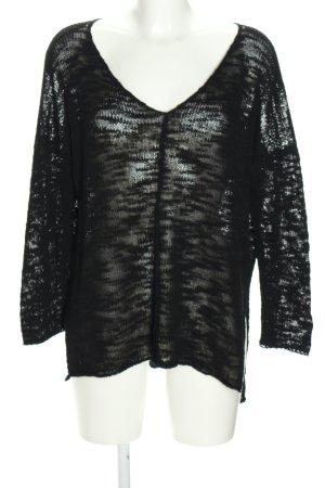 Brandy & Melville Gehaakte trui zwart casual uitstraling