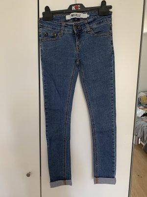 Brandy & Melville Jeans skinny blu