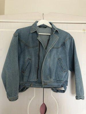 Brandy & Melville Denim Jacket cornflower blue