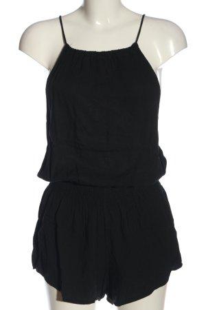 Brandy & Melville Kurzer Jumpsuit schwarz Casual-Look