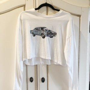 Brandy Melville langarm Tshirt Vintage Autoprint