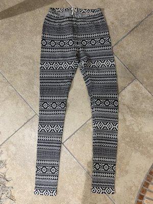 Brandy & Melville Leggings blanco-gris