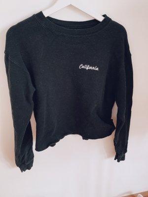 Brandy & Melville Crewneck Sweater black