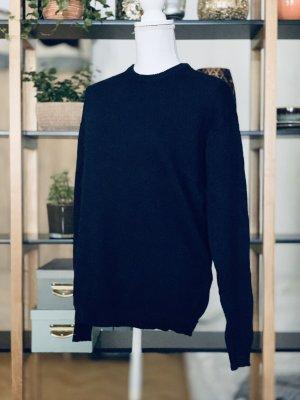 Brandy & Melville Pull tricoté bleu foncé
