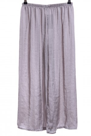 Brandy & Melville Jersey Pants silver-colored casual look