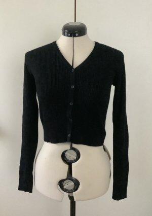 Brandy & Melville Giacca in maglia nero