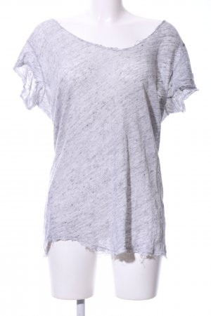 Brandy & Melville Knitted Jumper light grey-grey flecked casual look
