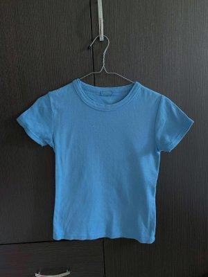 Brandy Melville Top blau basic