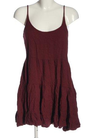 Brandy & Melville Robe à bretelles rouge style décontracté