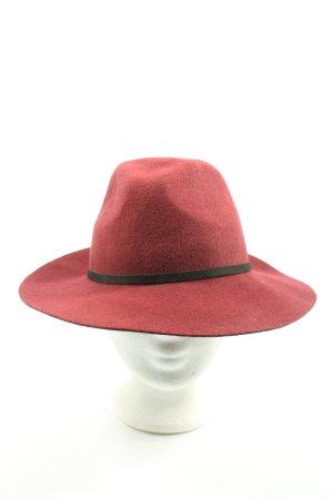 Brandy & Melville Woolen Hat red casual look