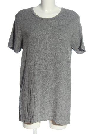 Brandy & Melville Wollen jurk lichtgrijs gestippeld casual uitstraling