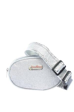 Brasi&Brasi Marsupio argento stile casual